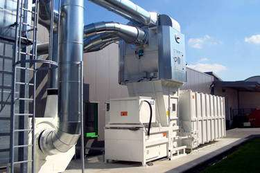 Separatorenschleusen im Recycling