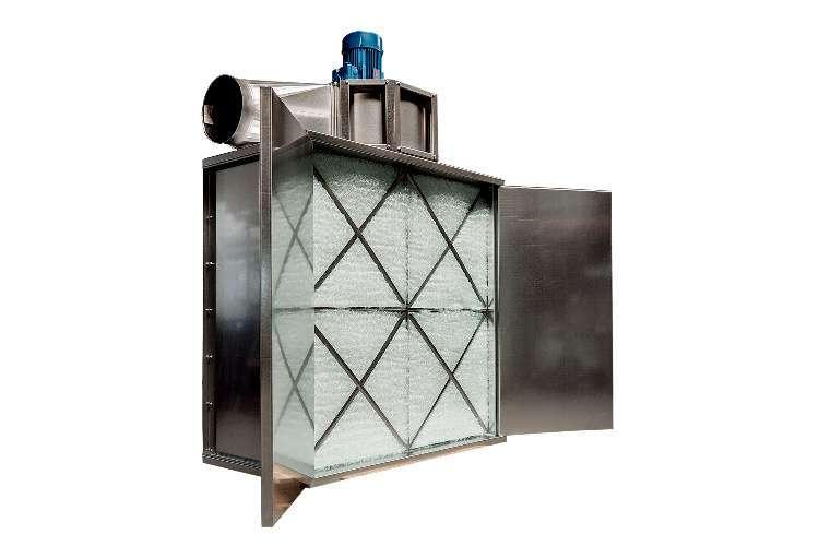 Pereți de pulverizare și aparate de tratare a aerului uzat