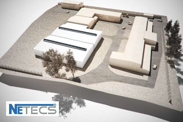New large twin hall for Netecs in Olesno